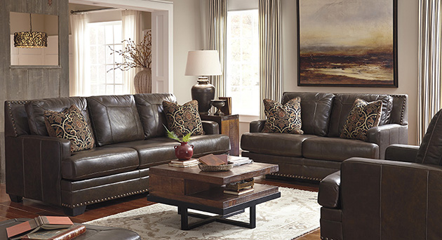 Corvan Antique Sofa & Loveseat